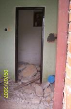 Stará špajza-terajšia kúpelňa