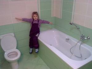 A naša nová kúpelňa