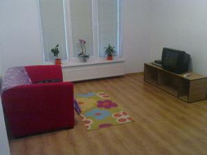 Obývačka,zatiaľ musí postačiť :)