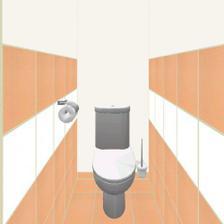a samostatne WC