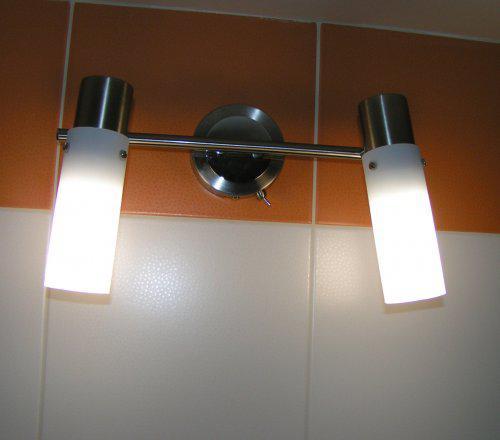 Predstava o byvani - svetlo v kupelni