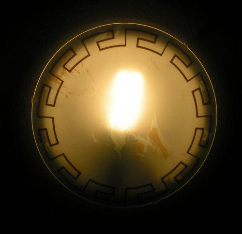 Predstava o byvani - lampa uz svieti