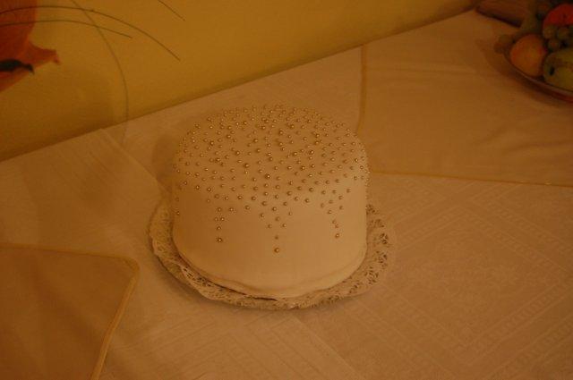 Pomaly skutocnost.. - nakoniec z nej bola mala torta pre babicku k 81. narodeninam