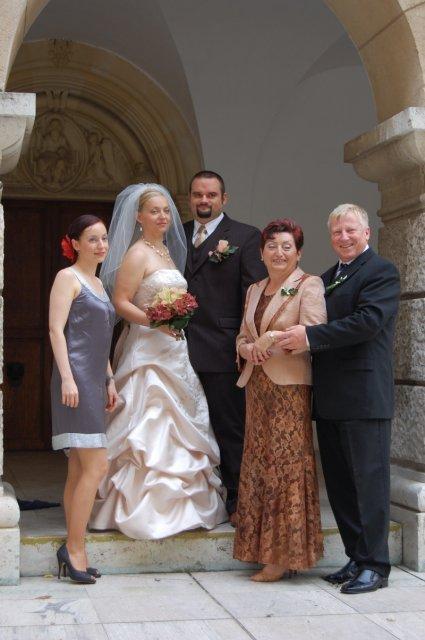 Zuzka{{_AND_}}Petrík - s mojimi rodicmi a sestrou