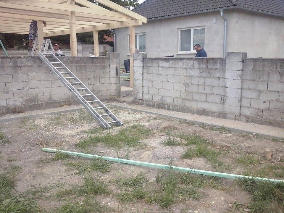 Dalsi level - zo stareho skoro nove - chodniky pre domom