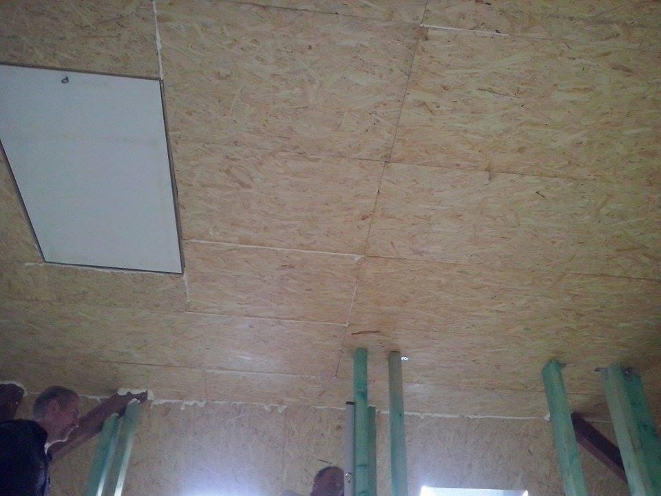 Dalsi level - zo stareho skoro nove - zatvoreny strop a vylez