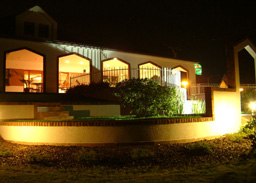 restaurace v noci