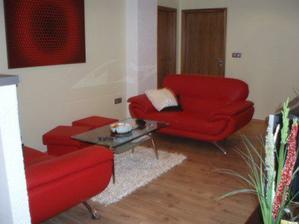 obývací pokoj-taktéž pohled z kuchyně