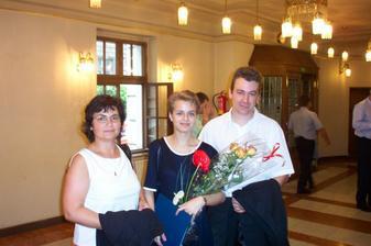 já s miláčkem a maminkou na promoci