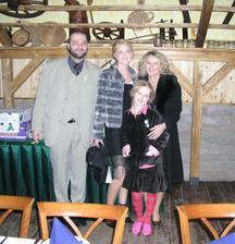 Bráška (můj svědek) s rodinou