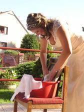 a nevěsta je přeprat na valše