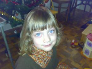 Dcera Kristýnka. Družička č. 1