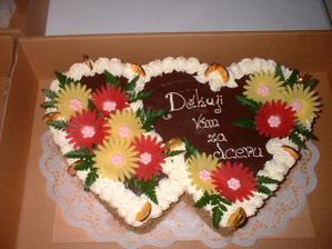 Dortík od mého manžela pro mé rodiče