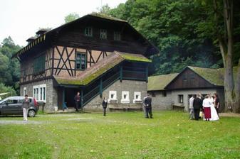 Švýcárna v celé své kráse, tady jsme slavili a řádili a spinkali...