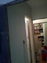 postavená stena