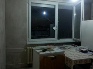 kuchyňa - napenetrákované steny