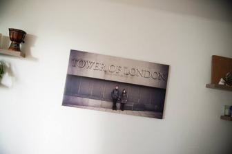 a ďalšie plátno....spomienka na Londýn