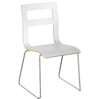 PreTty stOol - velmi pekna biela stolicka .