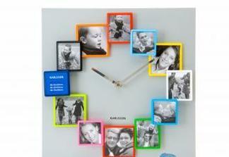 hodiny , do ktorych si mozete dat fotky