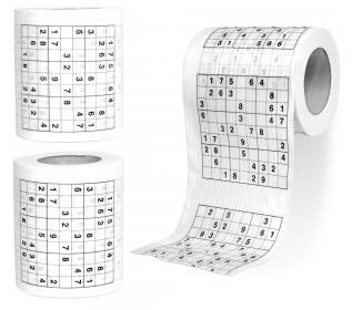 DeSiGn - toaletny papier - sudoku