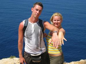 poslední foto manželova prstýnku...druhý den ho ztrtail...:-(