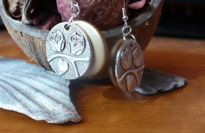Moje handmade naušničky - Obrázok č. 34