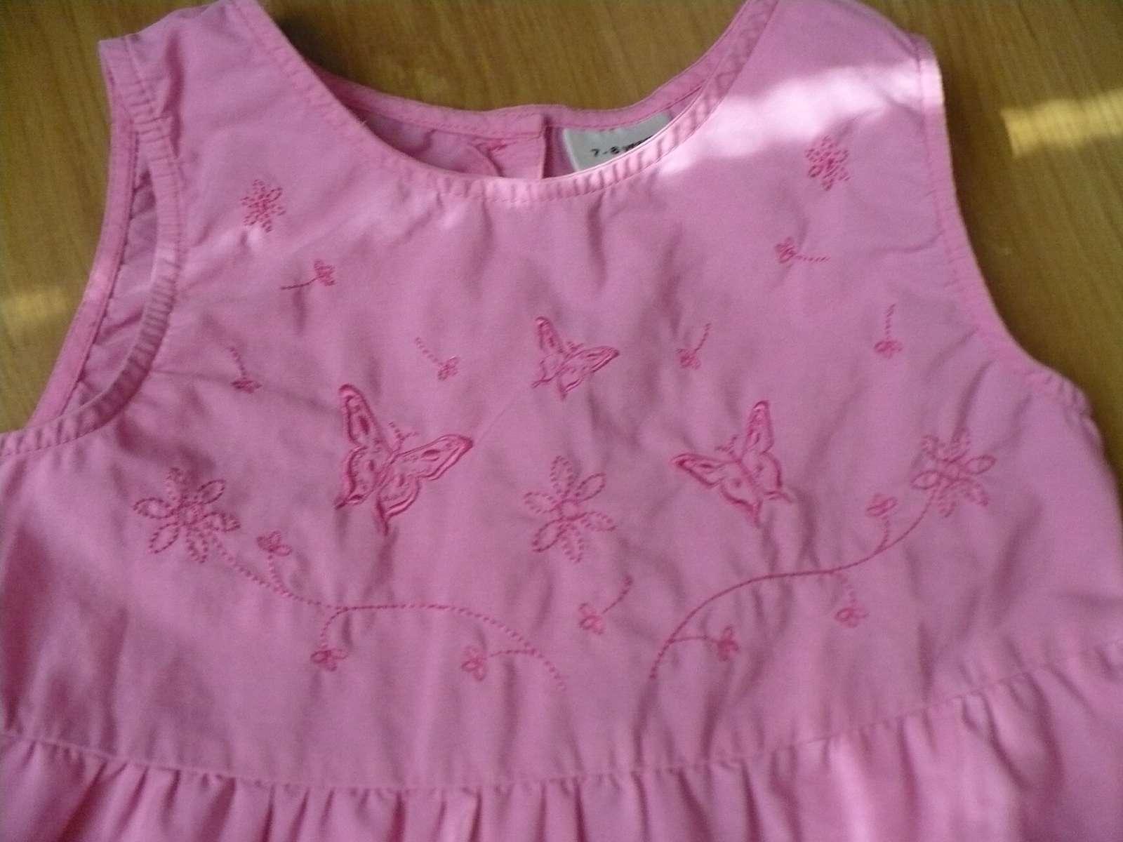 ružové šatočky s motýlikmi - Obrázok č. 1