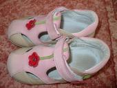 Krásne ružové poltopánky veľmi málo nosené - 25, 25