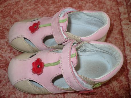 Krásne ružové poltopánky veľmi málo nosené - 25 - Obrázok č. 1