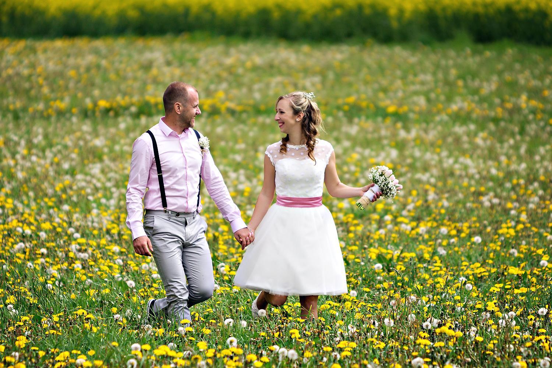 Svatební páry - BOSÁCI - Manželé Drdovi