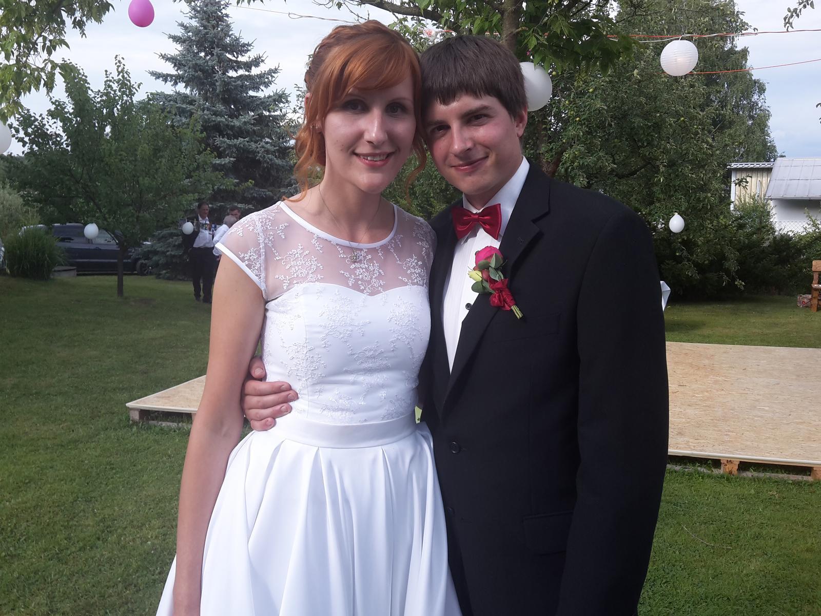 Svatební páry - BOSÁCI - Manželé Černých