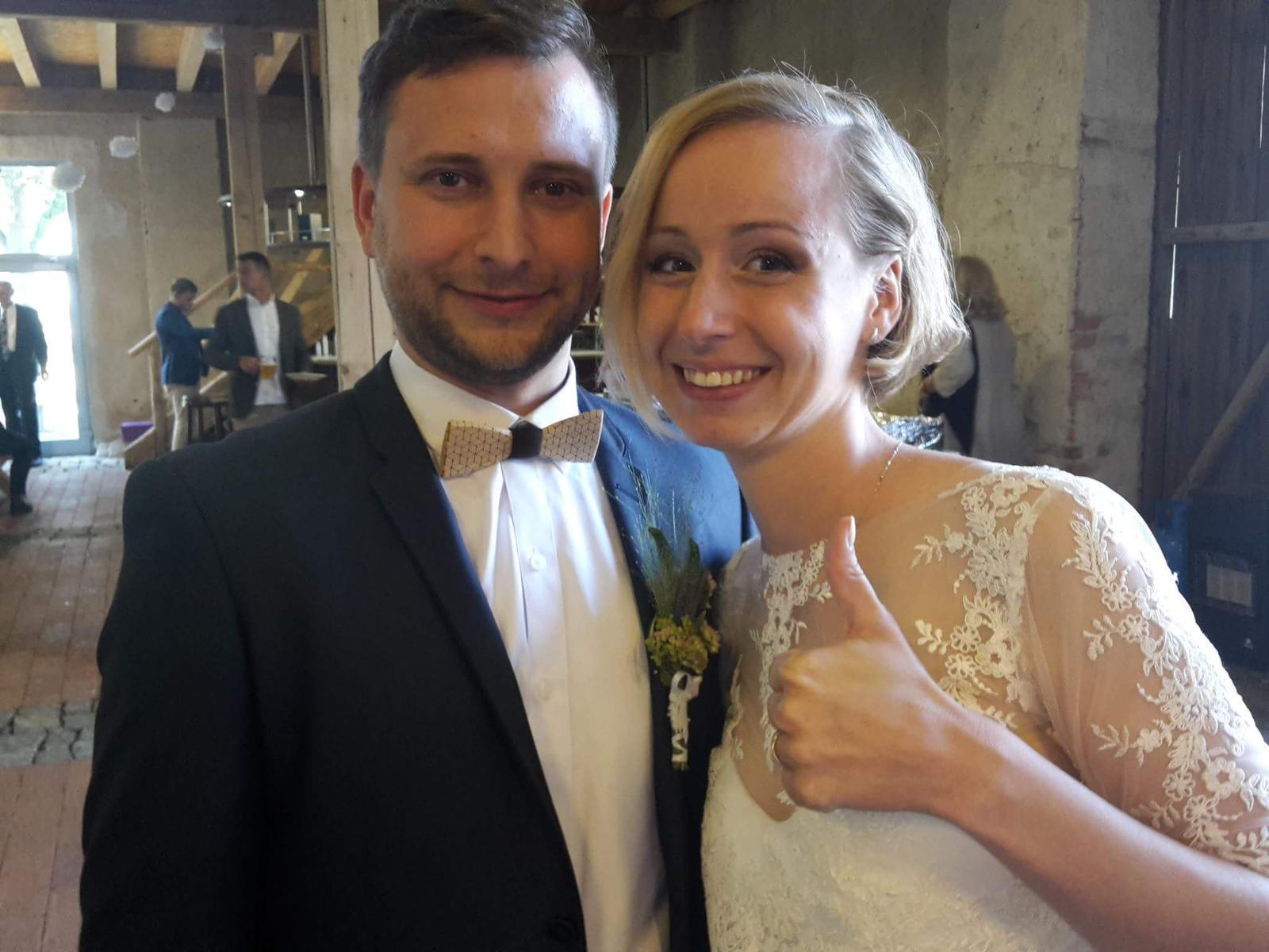 Svatební páry - BOSÁCI - Manželé Sladkých