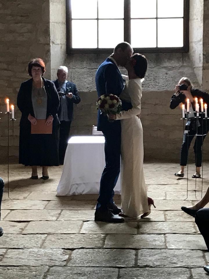 Svatební páry - BOSÁCI - Manželé van Doorn