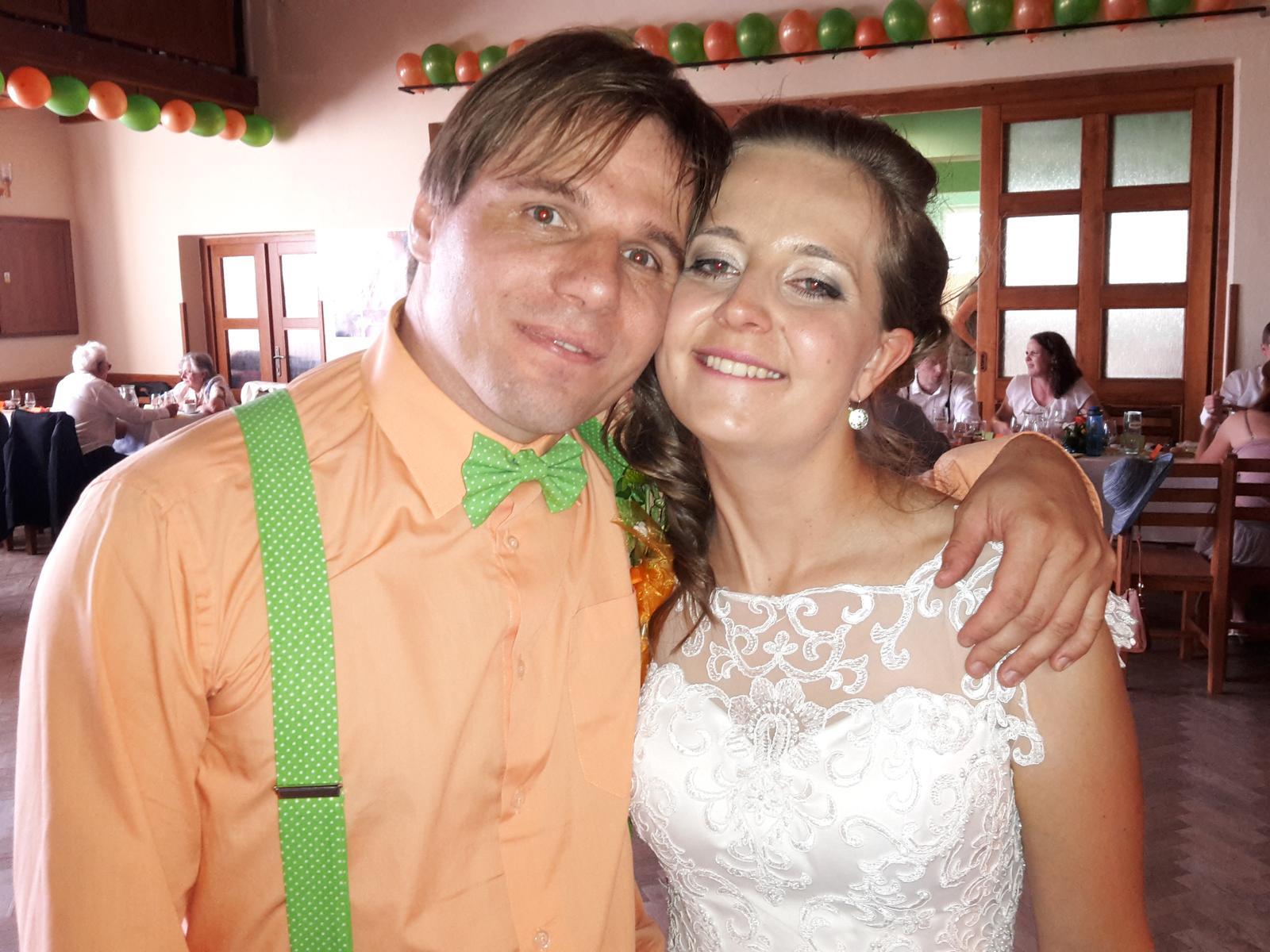Svatební páry - BOSÁCI - Manželé Pelcovi