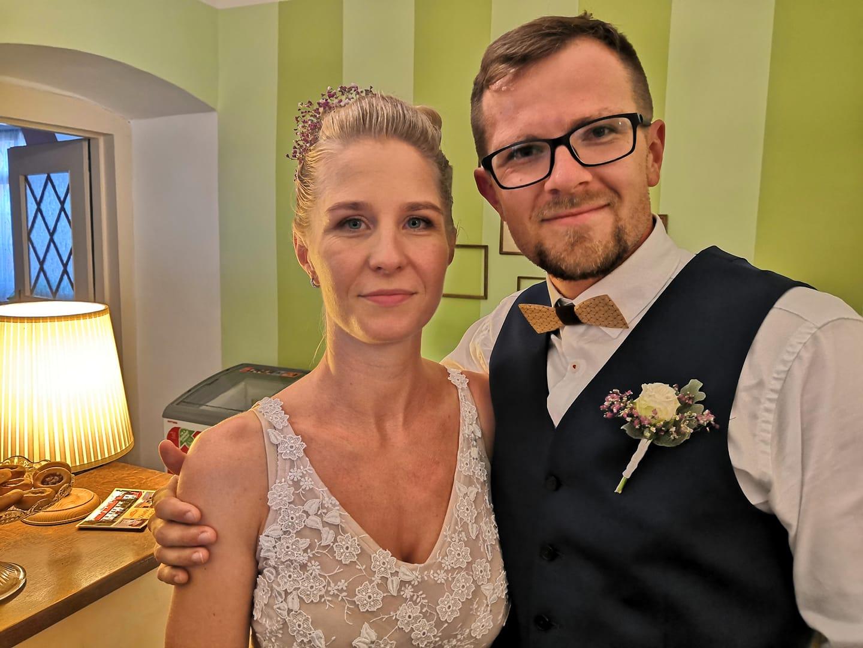Svatební páry - BOSÁCI - Manželé Dvořáčkovi