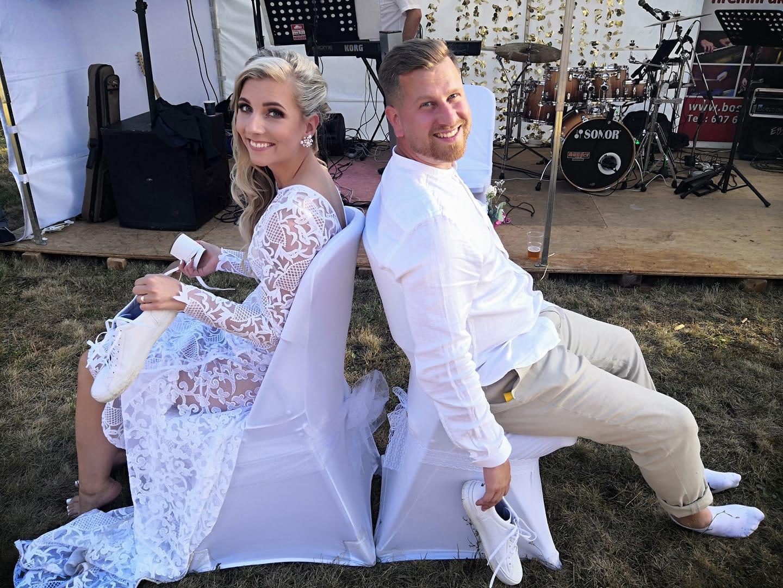 Svatební páry - BOSÁCI - Manželé Hruškovi