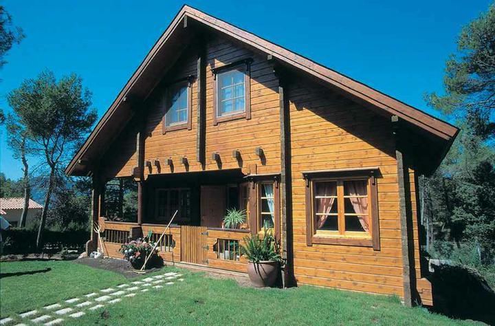 Drevený dom - Obrázok č. 1