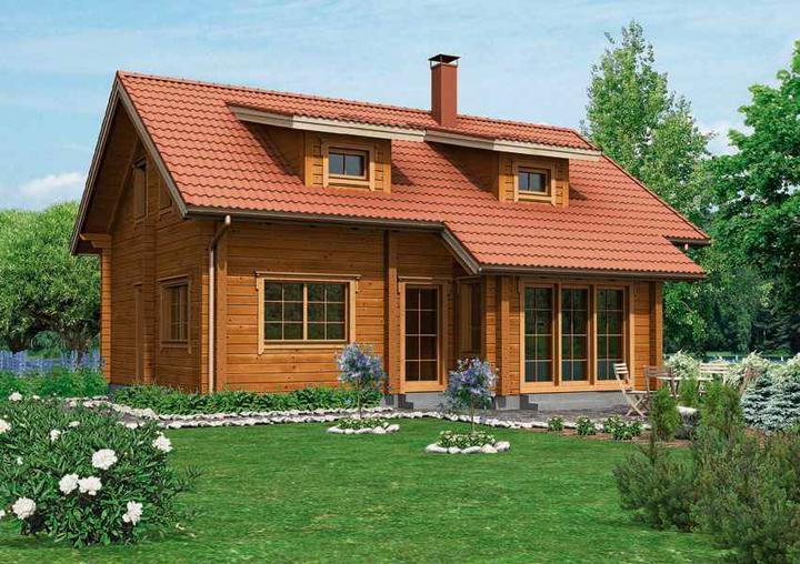 Drevený dom - Obrázok č. 2