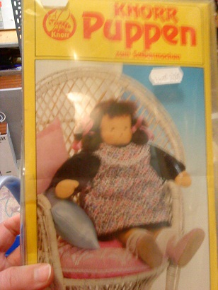 Flohmarkt - blšák, alebo burza - set na šitú bábiku