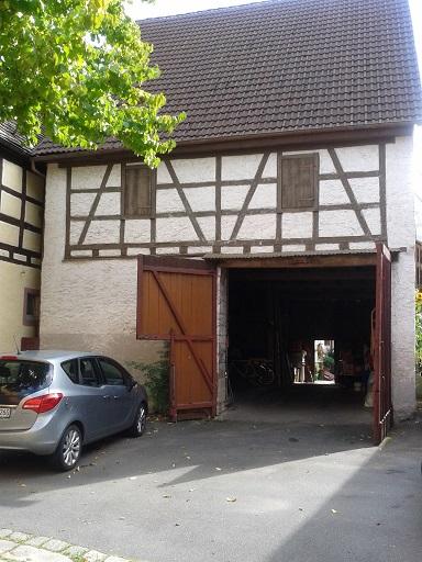 Hrázdené domy v Nemecku - aj stará stodola ešte poslúži