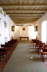 Obřadní sál z druhé strany