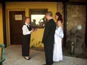 Provozní Hotelu u Lišky Květa, moc ji děkujeme...
