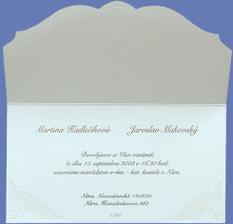 Takto to asi vyzerá zvnútra, len sú na nich naše mená,adresy a dátum našej svadby.:))