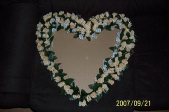Na tomto teraz s maminkou pracujeme, malo by to byť plné takých ružičiek.
