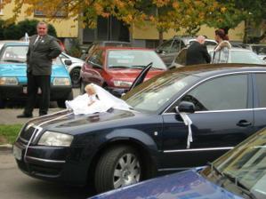 auto svadobnéé