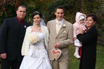 s dcérkou,mojím bratom a švagrinou:)
