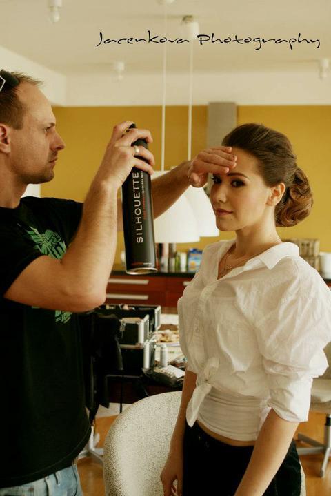 Zuzka{{_AND_}}Marek - Boris bol vyborny, postaral sa o makeup aj uces