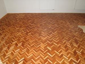 dřevěná mozaika - jilm