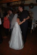 tanec nejmenšího a nejvyššího svatebčana :-D