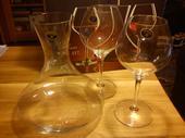 Vínny set Bohemia-nepoužitý,